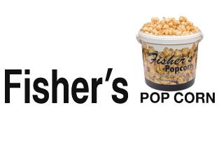 Fisher's Pop Corn Logo